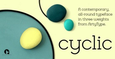 Cyclic [3 Fonts]