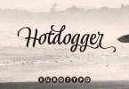 Hotdogger [4 Fonts] | The Fonts Master