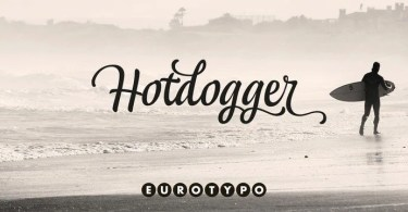 Hotdogger [4 Fonts] | The Fonts Master