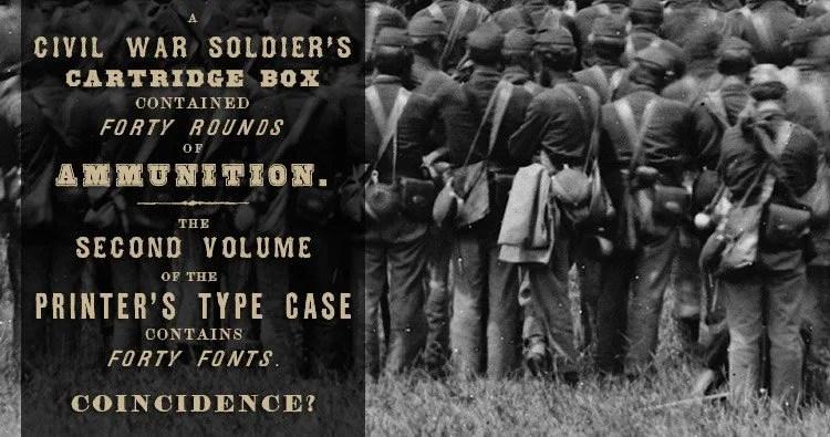 Fonts Of The Civil War Era - Volume Ii [39 Fonts] | The Fonts Master