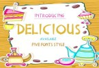 Delicious [5 Fonts] | The Fonts Master