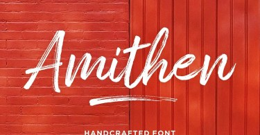 Amithen [2 Fonts] | The Fonts Master