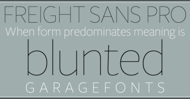 Freight Sans Hpro Hairlines Super Family [6 Fonts] | The Fonts Master