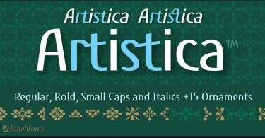 Artistica Super Family [4 Fonts] | The Fonts Master