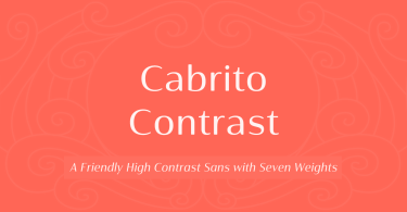 Cabrito Contrast Super Family [54 Fonts] | The Fonts Master