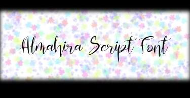 Almahira Script [1 Font] | The Fonts Master