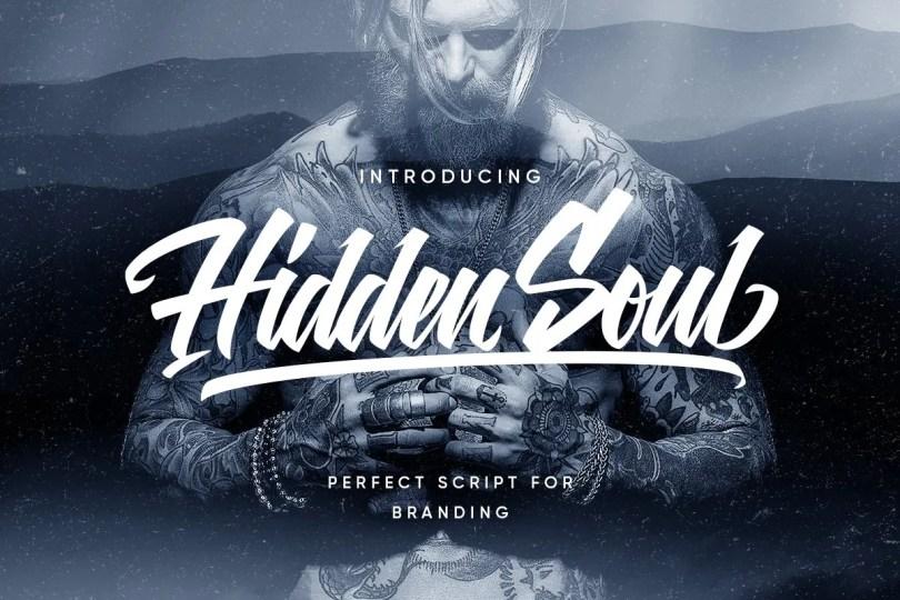 Hidden Soul [2 Fonts] | The Fonts Master