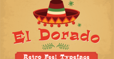 El Dorado [4 Fonts] | The Fonts Master