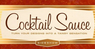 Cocktail Sauce [1 Font] | The Fonts Master
