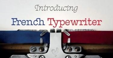 French Typewriter Super Family [12 Fonts] | The Fonts Master
