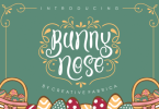 Bunny Nose [1 Font] | The Fonts Master