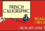 French Calligraphic Jnl [2 Fonts] | The Fonts Master