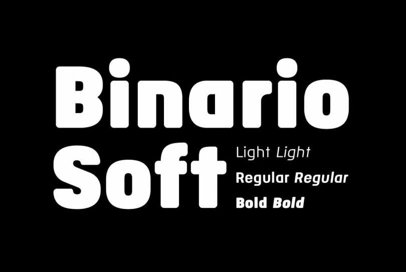 Binario Soft [6 Fonts]