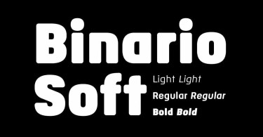 Binario Soft [6 Fonts] | The Fonts Master