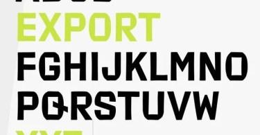Export [2 Fonts] | The Fonts Master