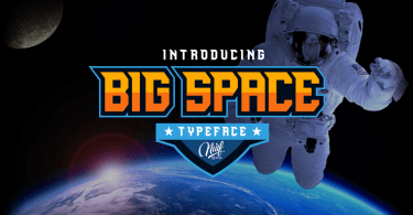 Big Space [1 Font] | The Fonts Master
