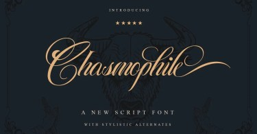 Chasmophile [1 Font] | The Fonts Master