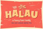 Halau [5 Fonts] | The Fonts Master
