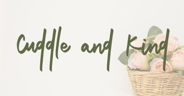 Cuddle and Kind [2 Fonts]