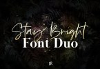 Stay Bright Duo [2 Fonts] | The Fonts Master