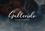 Gallendo [1 Font] | The Fonts Master