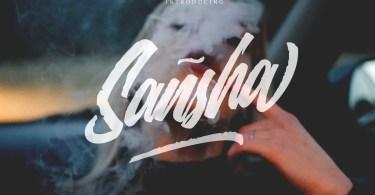 Sansha [1 Font] | The Fonts Master