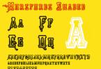 Horsfords [3 Fonts] | The Fonts Master