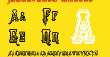 Horsfords [3 Fonts]   The Fonts Master