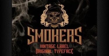 Smokers [6 Fonts] | The Fonts Master