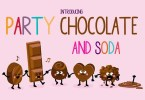 Party Chocolate And Soda [1 Font] | The Fonts Master