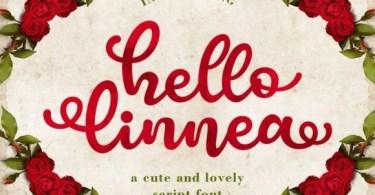 Hello Linnea [1 Font] | The Fonts Master