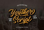 Youther Script [6 Fonts] | The Fonts Master