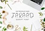 Jaraad Script [4 Fonts] | The Fonts Master