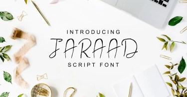 Jaraad Script [4 Fonts]   The Fonts Master