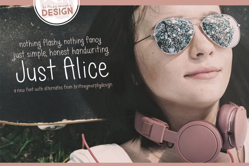 Just Alice [1 Font] | The Fonts Master