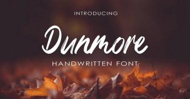 Dunmore [1 Font]