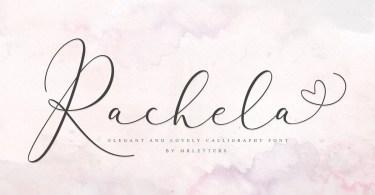 Rachela [2 Fonts] | The Fonts Master