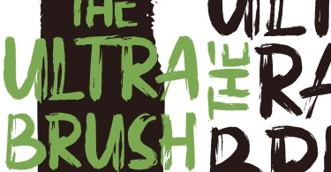Ultra Brush [2 Fonts]   The Fonts Master