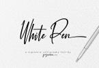 White Pen [1 Font] | The Fonts Master