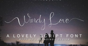 Windy Love [2 Fonts] | The Fonts Master