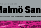 Malmo Sans Pro Super Family [6 Fonts] | The Fonts Master