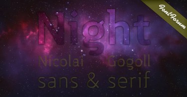 Night Super Family [10 Fonts] | The Fonts Master