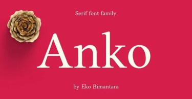 Anko [8 Fonts] | The Fonts Master
