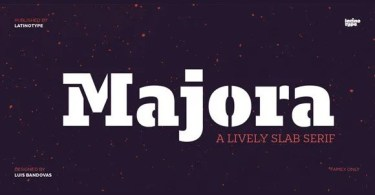 Majora Super Family [24 Fonts] | The Fonts Master