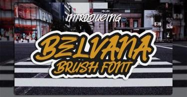 Belvana [1 Font] | The Fonts Master