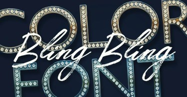 Bling Bling [2 Fonts] | The Fonts Master