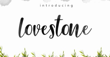 Lovestone [1 Font] | The Fonts Master