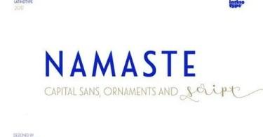 Namaste [21 .ttf Fonts]