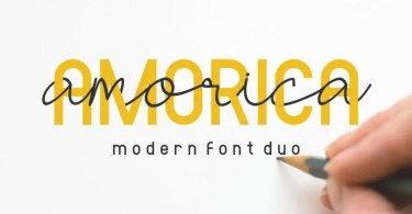 Amorica [4 Fonts] | The Fonts Master