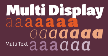 Multi Super Family [20 Fonts] | The Fonts Master